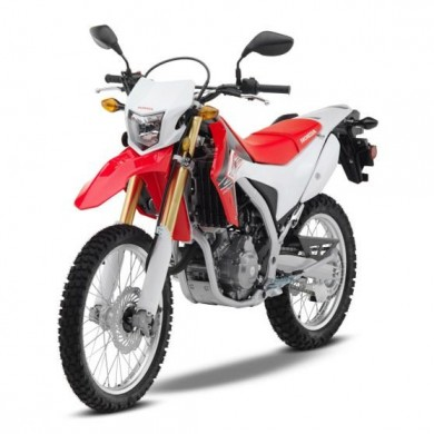 Rent a Honda CRF 250L car in Crete