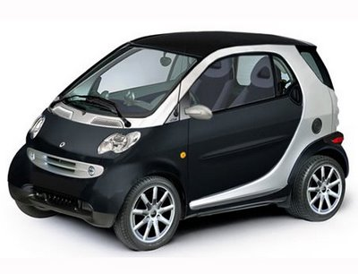 Rent a Smart Fortwo car in Crete